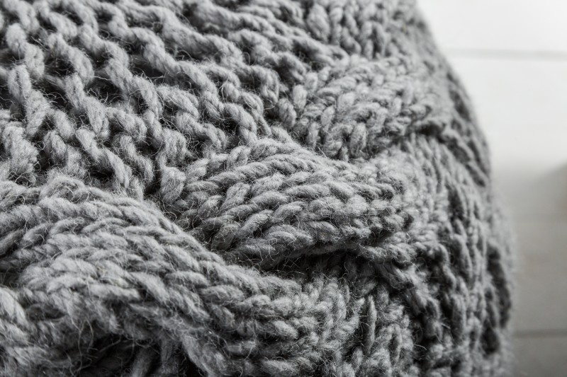 Podnožka Cozy 50cm - šedá / 39017