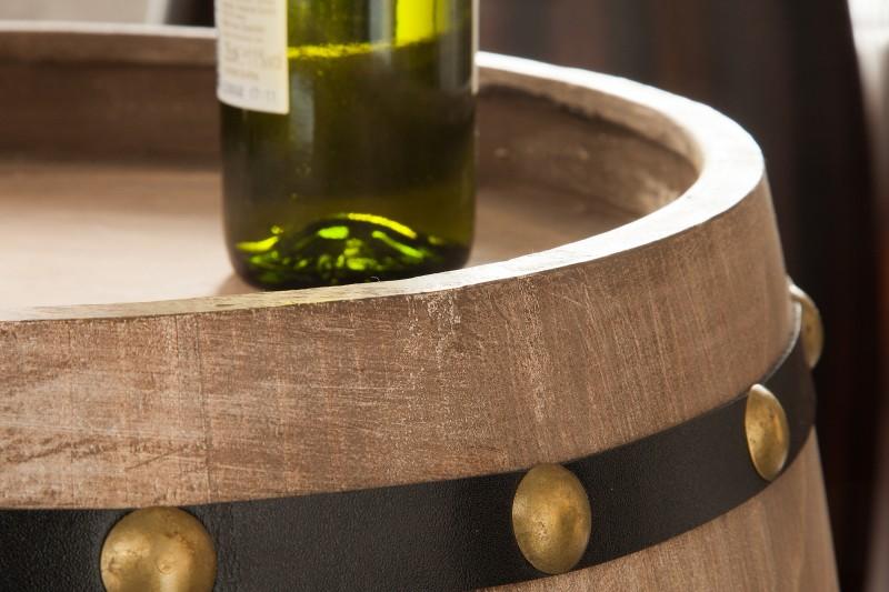Stojan na víno Tiago 60cm - přírodní / 38964