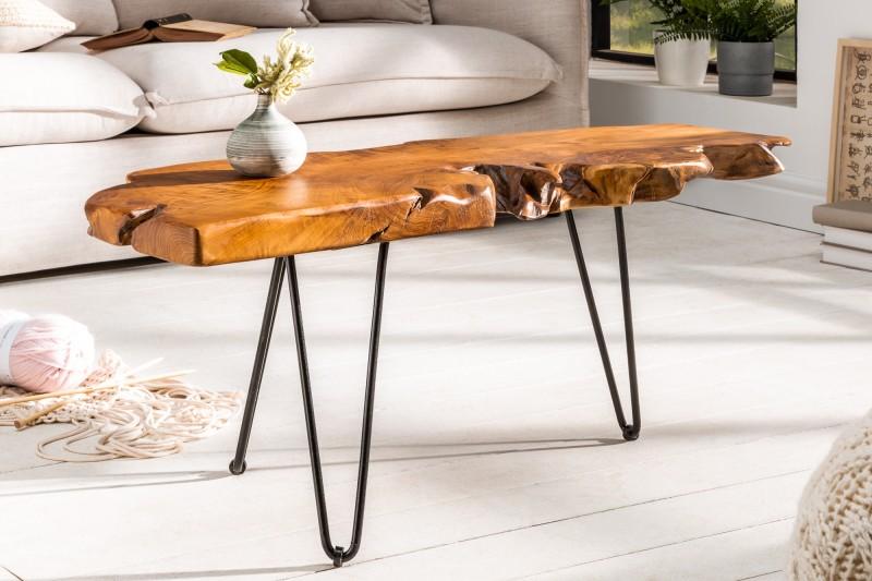 Konferenční stolek Strain 100cm x 40cm  - akát / 38797