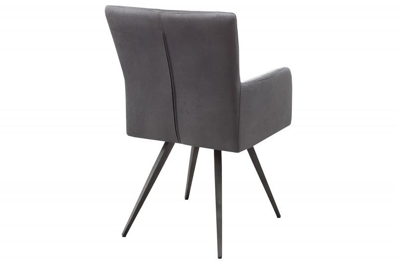 Jídelní židle Windsor - vintage šedá / 39084 židle