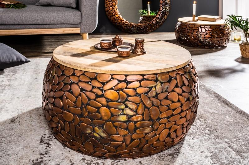 Konferenční stolek Mosaic sada 2 mědi / 38750