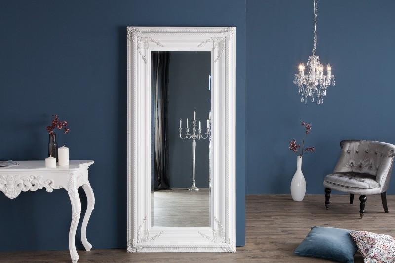 Stojící zrcadlo Renaissance 180cm bílá / 20351