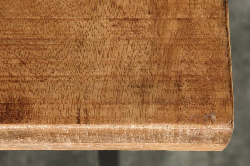 Barový stůl Iron Craft 120cm přírodní mango / 38668