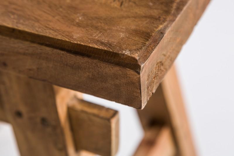 Hemingwayová stolička 40 cm z recyklovaného dřeva / 36635
