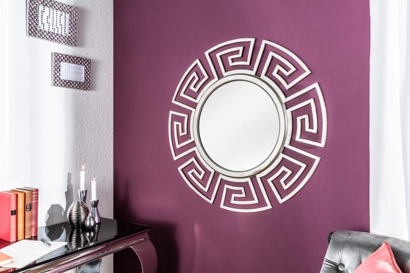 Nástěnné zrcadlo Euphoria 85cm - stříbrné / 38725