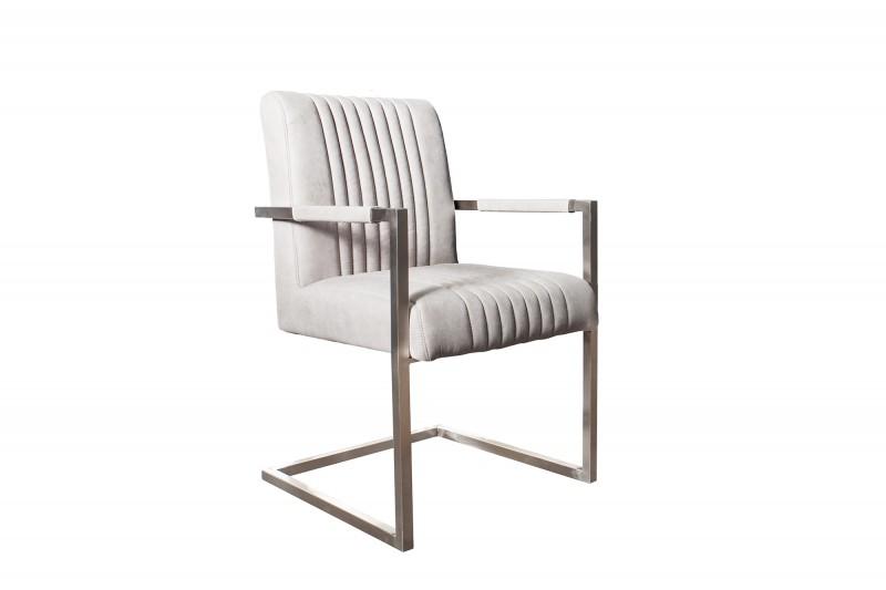 Konzolové židle Big Aston, kamenné šedé rameno ./ 39086