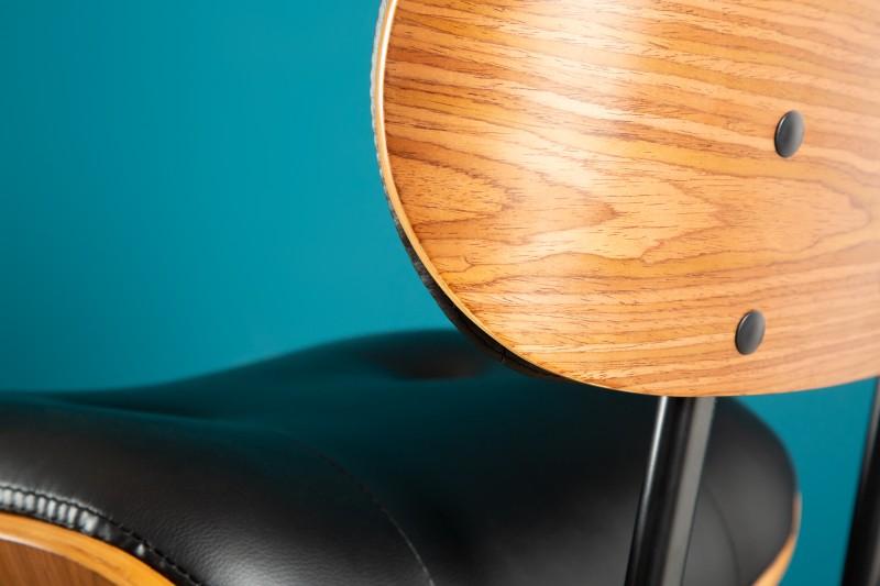 Barová židle Classico 115cm černý ořech / 39040