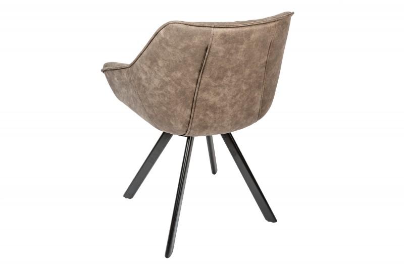 Jídelní židle Molly Comfort - vintage taupe / 38618