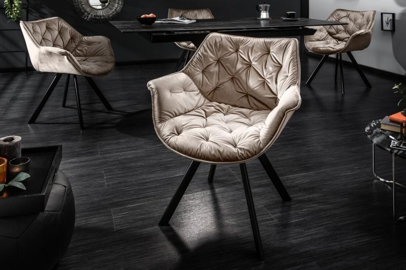 Židle The Dutch Comfort gold arm./ 39177