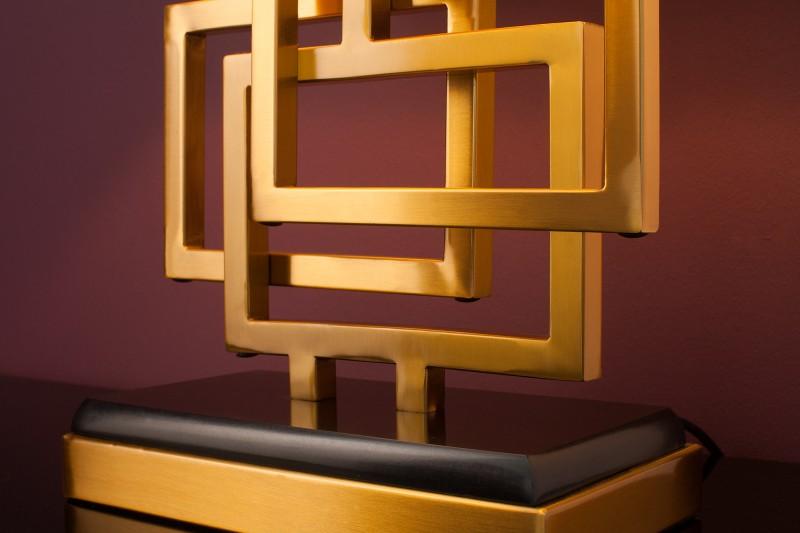 Stolní lampa Leonor 56cm - zlatá / 39098
