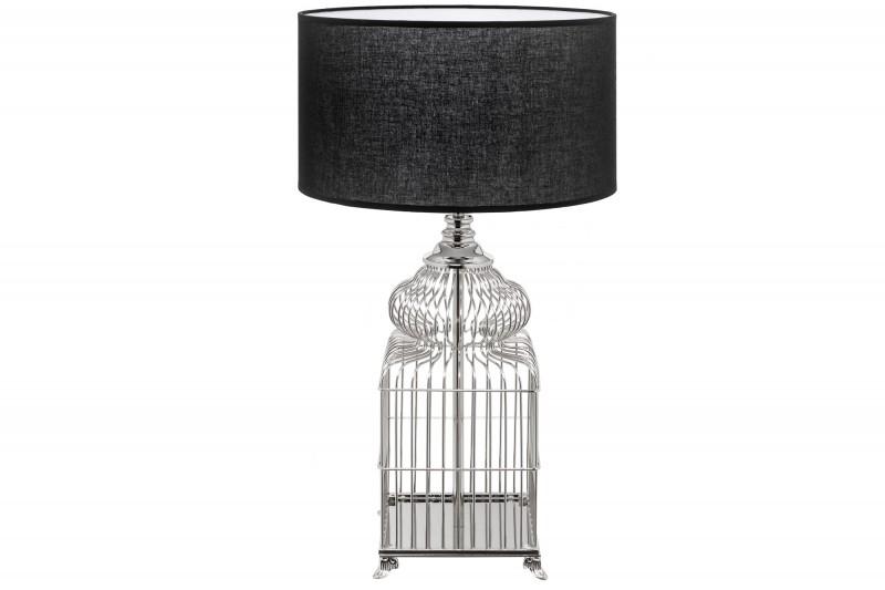 Stolní lampa Cage 68cm - stříbrná / 39099