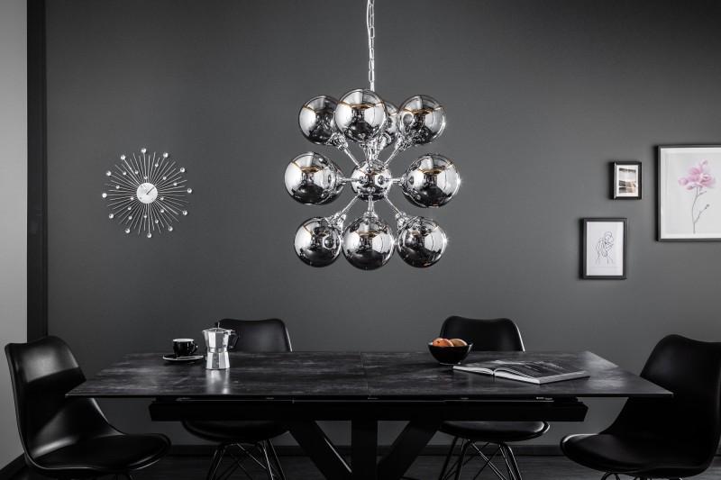 Závěsná lampa Modul 72cm - stříbrná / 39101