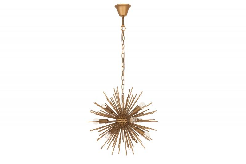 Závěsná lampa Star 50cm - zlatá / 39106