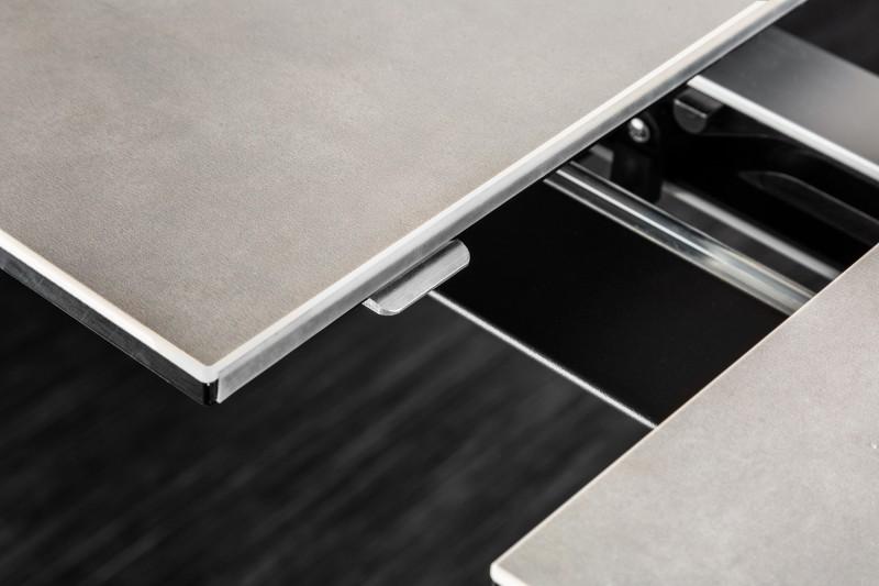 Jídelní stůl Ceramic Star 180-225cm x 90cm - keramika, beton / 39116