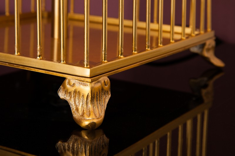 Stolní lampa Cage 68cm - zlatá / 39100