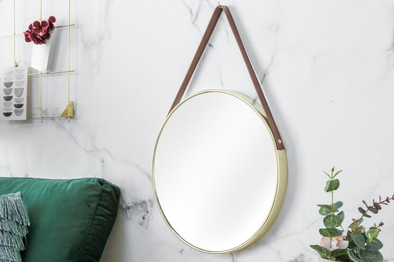 Nástěnné zrcadlo Portrait 45cm - zlaté / 39143