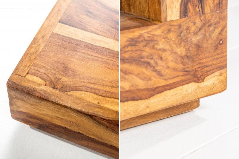Konferenční stolek Massive 45cm x 45cm - Sheesham / 37459