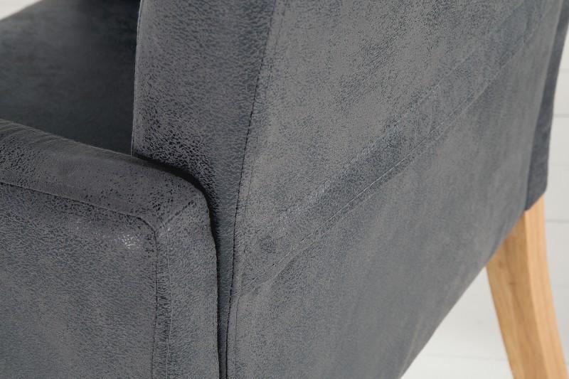 Jídelní židle Chantelle - vintage šedá / 39014