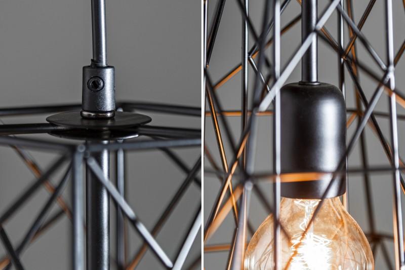 Závěsná lampa Jasper S - černá / 39317