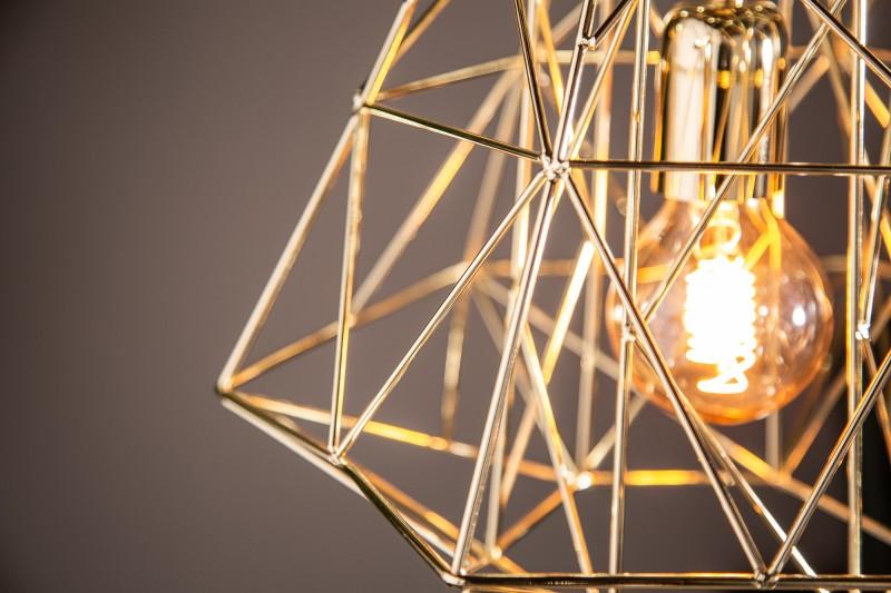 Závěsná lampa Jasper S - zlatá / 39319