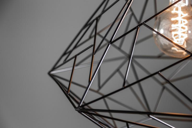 Závěsná lampa Jasper L - černá / 39320