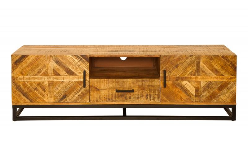 Televizní stolek Morelia 160cm x 52cm - mango / 39240