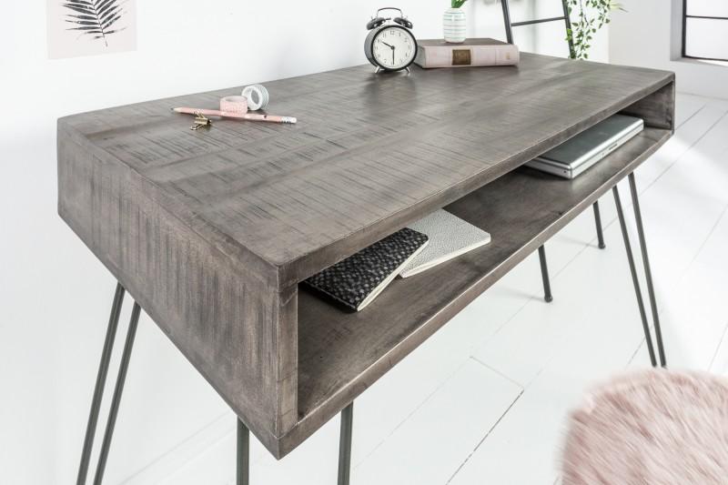 Pracovní stůl Scorpion 100cm x 50cm - šedé mango / 38944