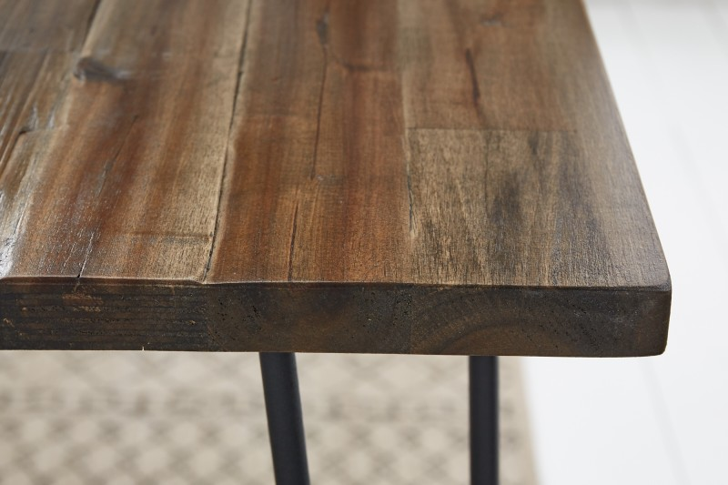 Jídelní stůl Scorpion Retro 120cm x 80cm - hnědý akát / 38887