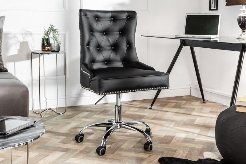 Kancelářská židle Victoria - černá / 39346
