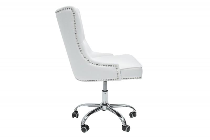 Kancelářská židle Victoria - bílá / 39347