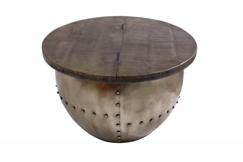 Konferenční stolek Drump Storage šedá / 38948