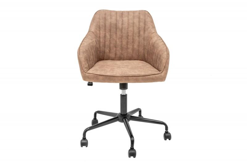 Kancelářská židle Loreta - vintage béžová / 39348