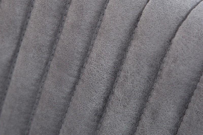 Konzolové židle Big Aston vintage šedé rameno ./ 39083