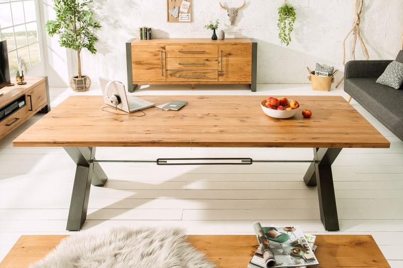 Jídelní stůl Luque 200cm x 100cm -  divoký dub / 38460