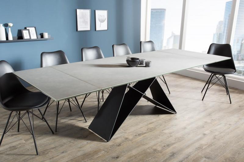 Jídelní stůl Prometheus 180-260cm cement / 38558