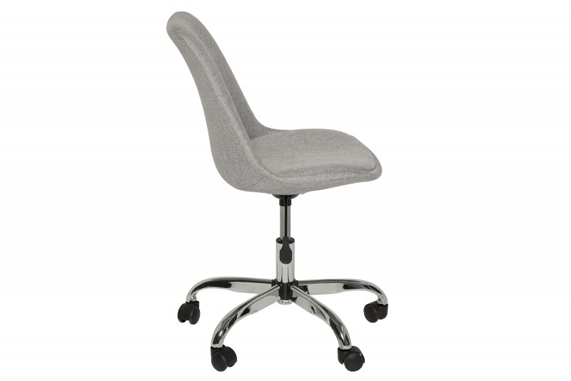 Kancelářská židle Doris - šedá / 39298 - 2ks skladem