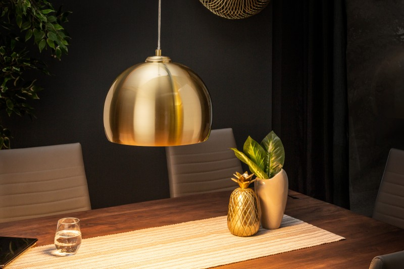 Závěsná lampa Violet - zlatá / 39439
