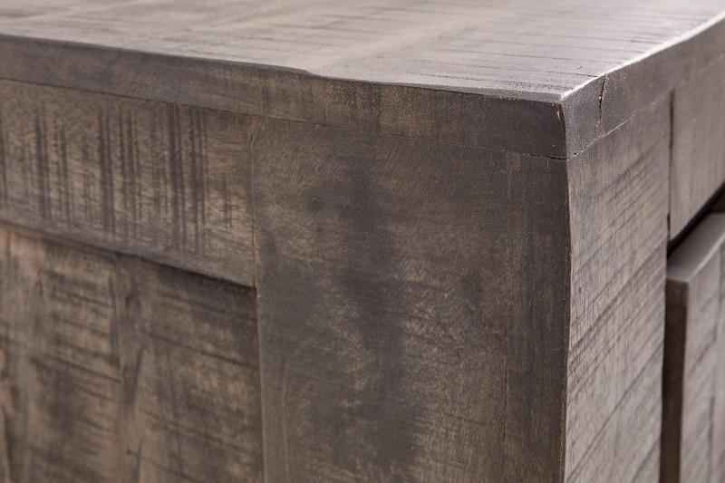 Příborník Escobar 175cm x 76cm - šedé mango / 39277