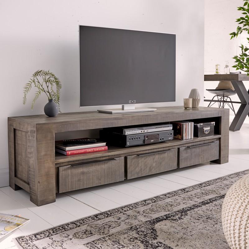 Televizní stolek Reyes 170cm x 45cm - šedé mango / 39279