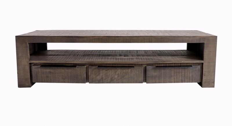 Televizní stolek Iron Craft 170cm šedé mango / 39279