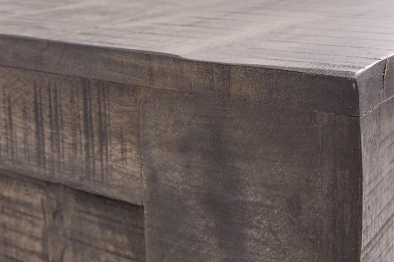 Televizní stolek Reyes 130cm x 45cm - šedé mango / 39281