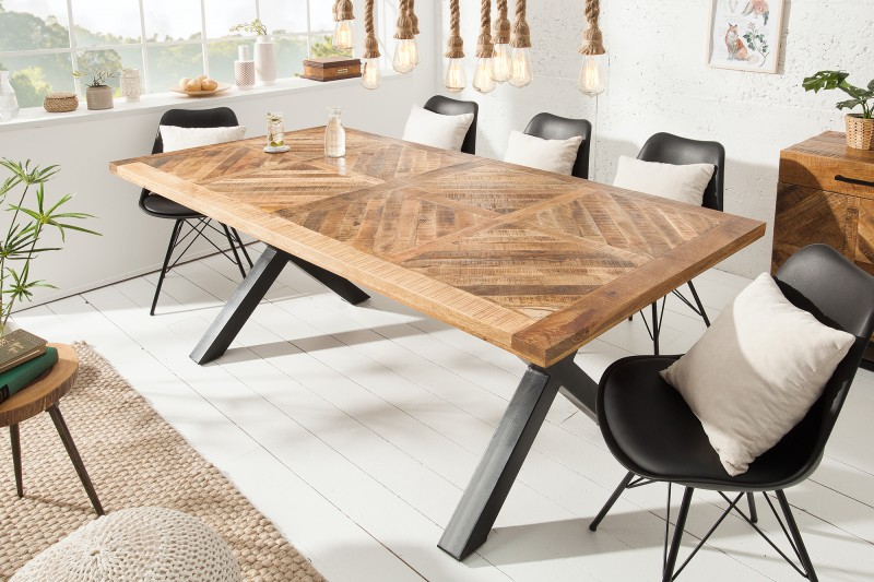 Jídelní stůl Infinity Home 200cm přírodní mango / 39288