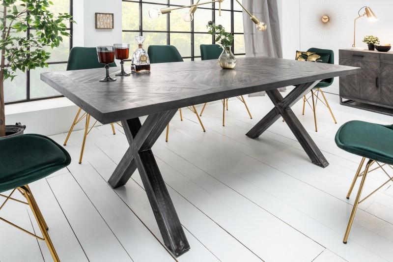 Jídelní stůl Infinity 160 cm šedé mango / 39287