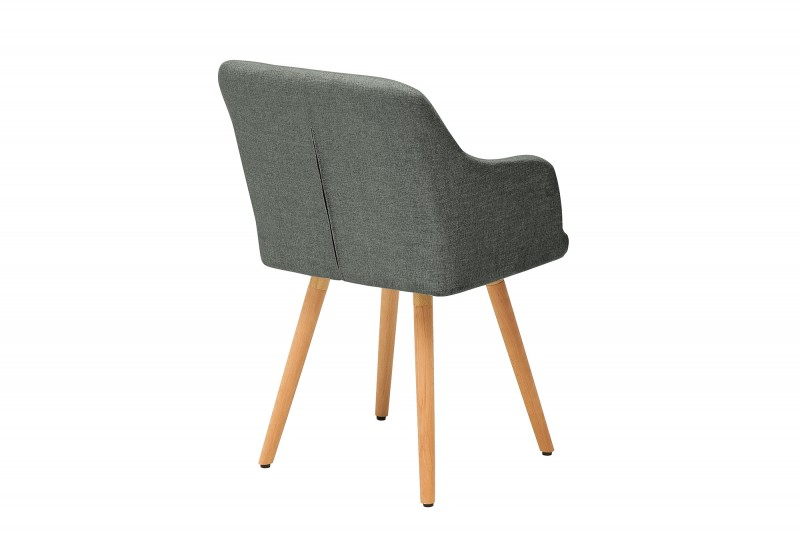 Jídelní židle Scandinavia Retro - tmavě šedá / 36823