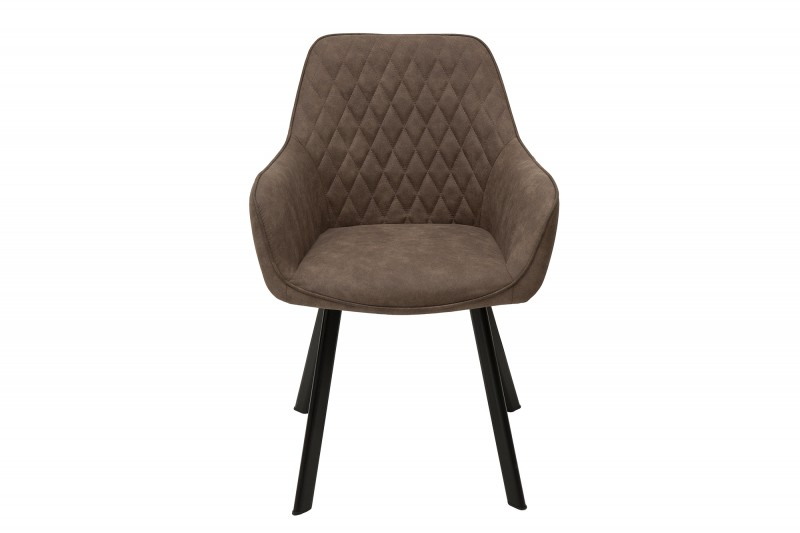 Jídelní židle Lybster - taupe šedá / 39343