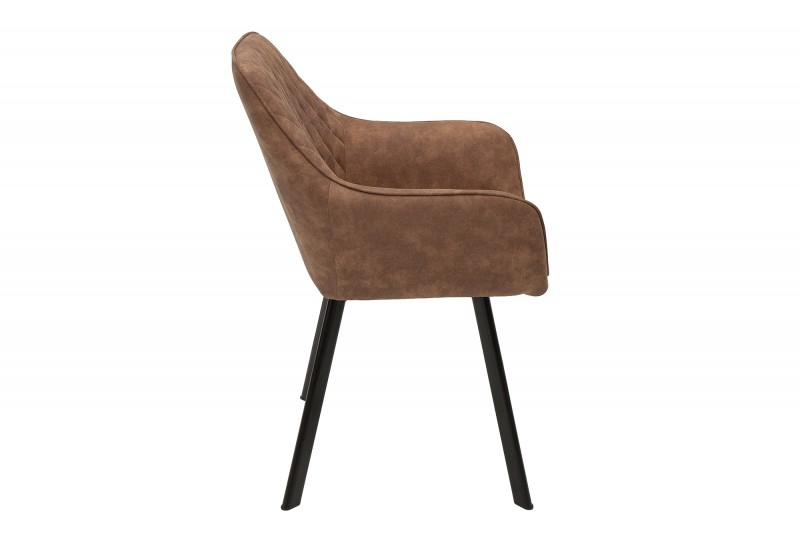 Jídelní židle Lybster - světle hnědá / 39344