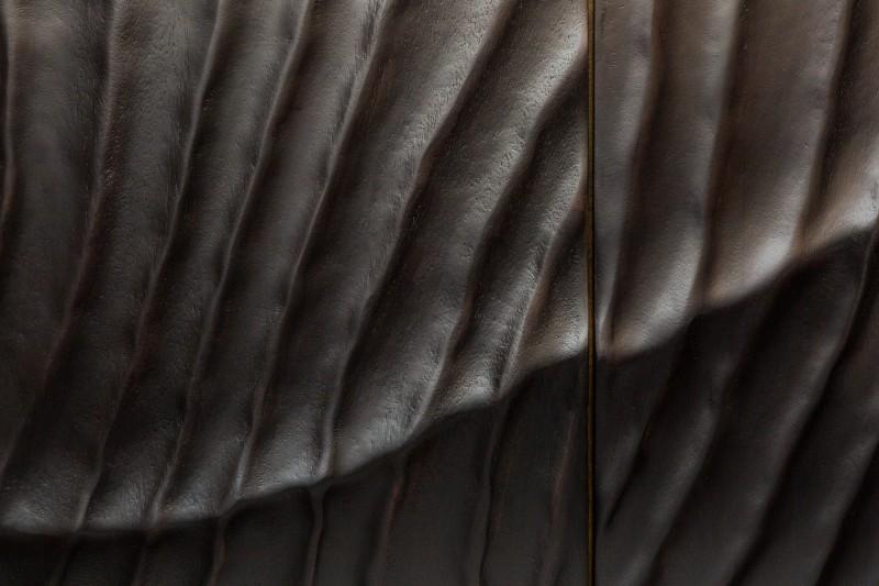 Příborník Lima 177cm x 76cm - mango, tmavé  / 39232