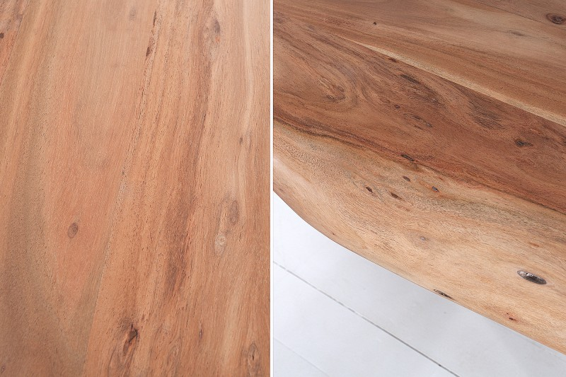 Jídelní stůl Colombo Cross 300cm x 106cm - akát, přírodní / 39308