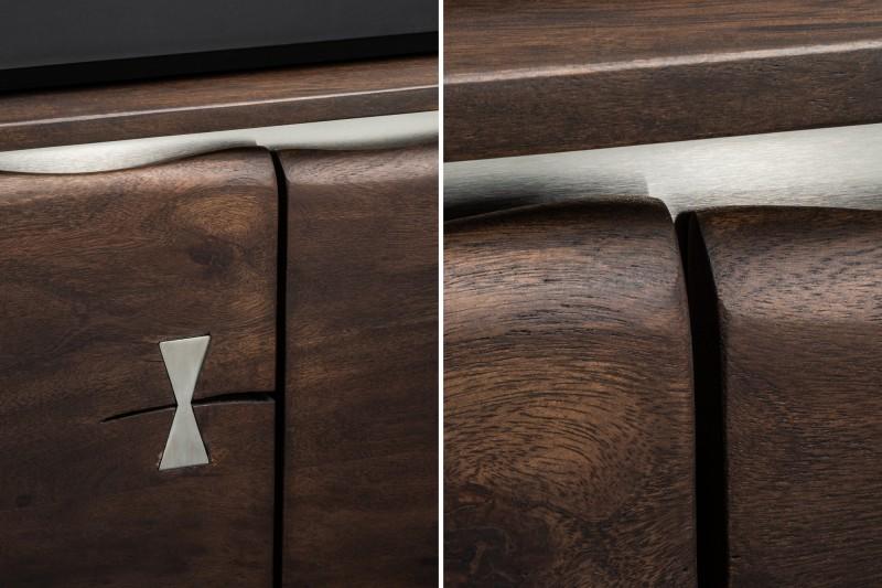 Příborník Lowell 147cm x 83cm -  akát / 39335