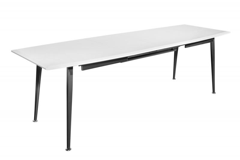 Jídelní stůl Continental 160-200-240cm bílý / 39760